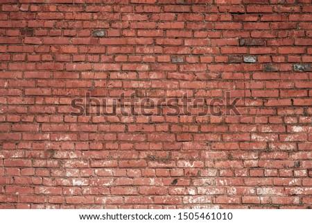 Old brick wa texture. Grunge wallpaper