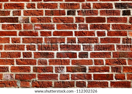 Old brick wall, may be used as background