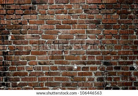 old brick wall texture #106446563