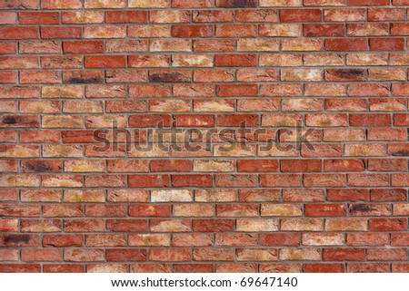 Old brick wall texture, architectural background