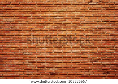 Old brick wall texture background #103325657