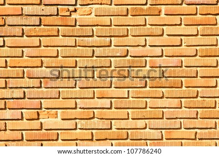 Old brick wall texture: can be used as background