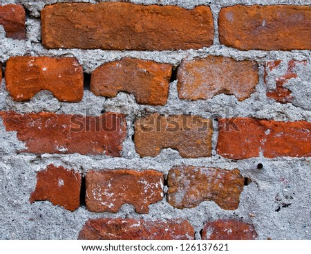 Old brick wall,Texture or background