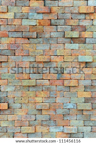 Old brick wall. vintage wall background.