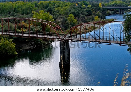 Old Bridge in Sacramento