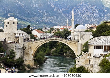 Old Bridge, Mostar, Bosniaand Herzegovina