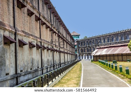 Shutterstock old brisish cellular prison on the island of Andamans in India