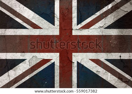Old British flag #559017382