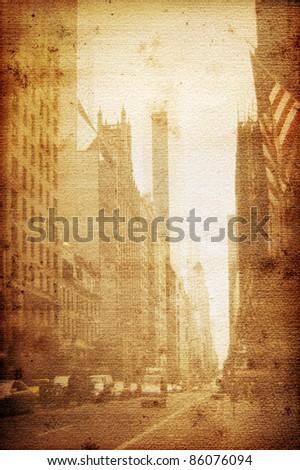 Old Broadway New York Stock photo ©