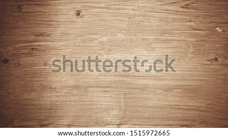 old brown bright wooden texture - wood background panorama Stock photo ©