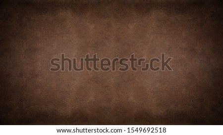 old brown dark rustic leather - background banner  Foto stock ©