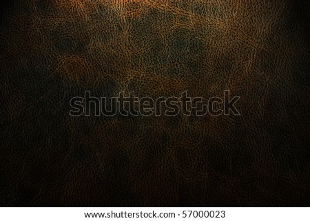 old brown leather texture for background