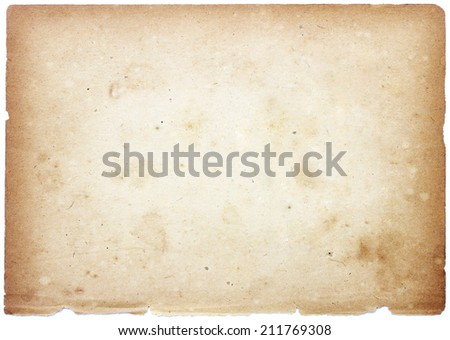 Old Brown paper  - Shutterstock ID 211769308