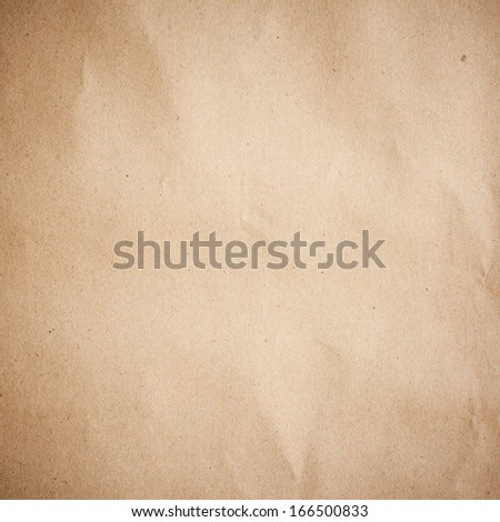 Old Brown Paper Background Texture And Close Up