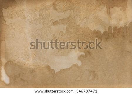 Old brown paper background. Vintage paper
