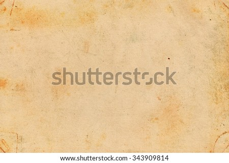 Old brown paper. Vintage paper background #343909814