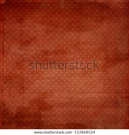 old brown red grunge background texture with dots