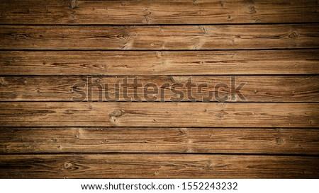 old brown rustic dark grunge wooden texture - wood Background banner Stock foto ©