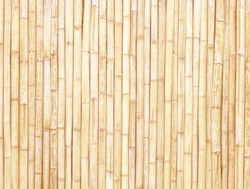 old brown tone bamboo plank fence texture for background