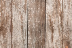 old brown wood background with peeling paint