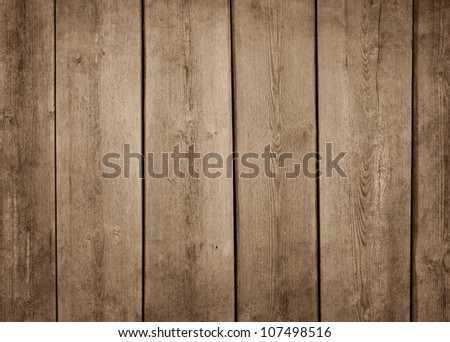 Old brown wood texture background with copy space