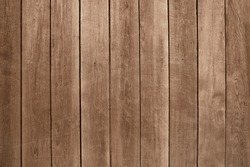 Old brown wooden wall background texture close up