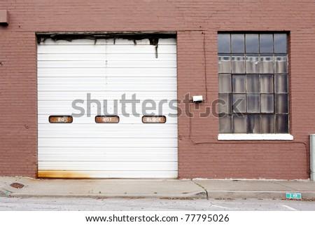old building garage