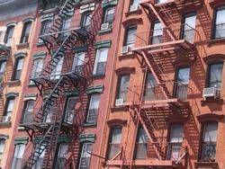 Old Building in Manhattan, New York
