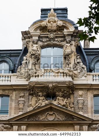 old building in Paris #649962313