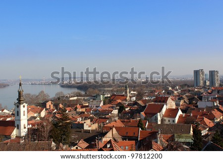 Old building in Zemun - stock photo