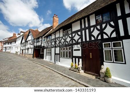 Old buildings in Warwick
