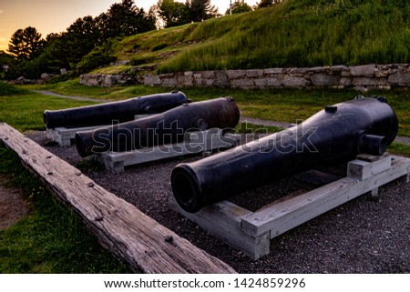 Old Cannons at the Fort #1424859296