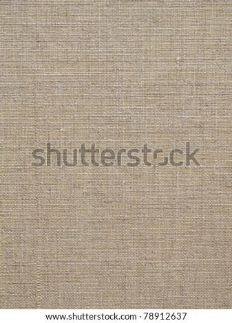 Old canvas for texture or background