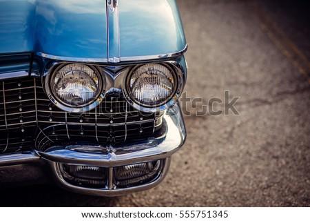 old car close up