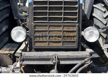 Old car detail.