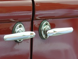 Old car handles