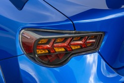 Old car tail light (brake light)