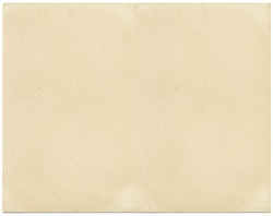 Old card stock paper with subtle stains and spots.