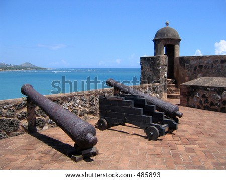 Old Caribbean Fortress