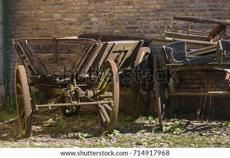 Old carriage #714917968