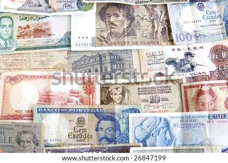 Currencies Of Different Countries With Pictures. different countries around