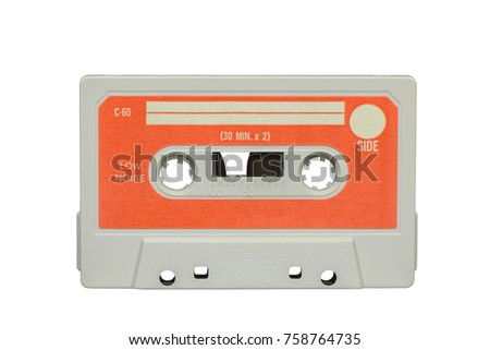 Old cassette 80s