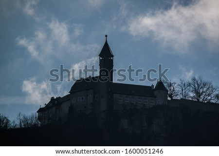 old caste on a mountain in germany