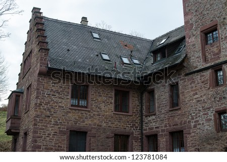 Old castle and chapel at Steinegg near Pforzheim, Germany