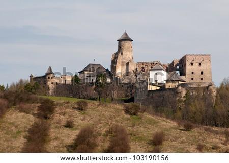 Old castle in Stara Lubovna, Slovakia