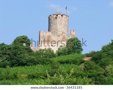 Old Castle, Kaysersburg Alsace