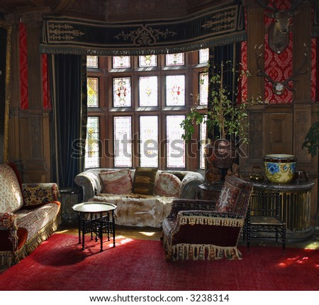 Old Castle With Antique Furniture Stock Photo 3238314 : Shutterstock