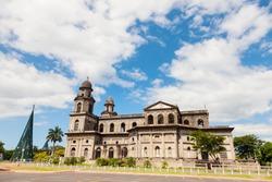 Old Cathedral of Managua. Managua, Nicaragua.