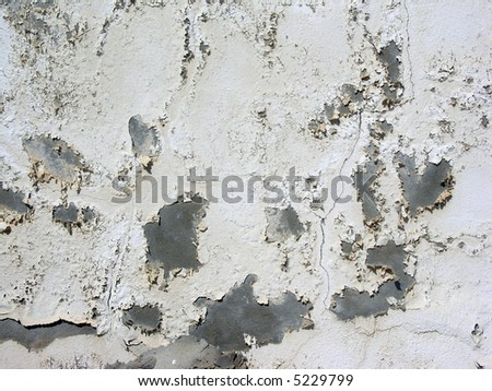 Old cement wall with cracks, great for backgrounds and textures.