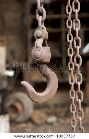 Old Chain Hoist